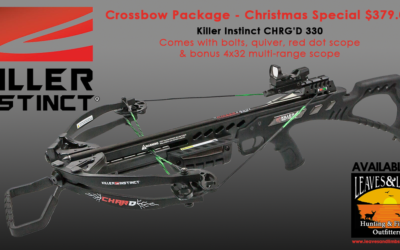 Crossbow Package – $379.00