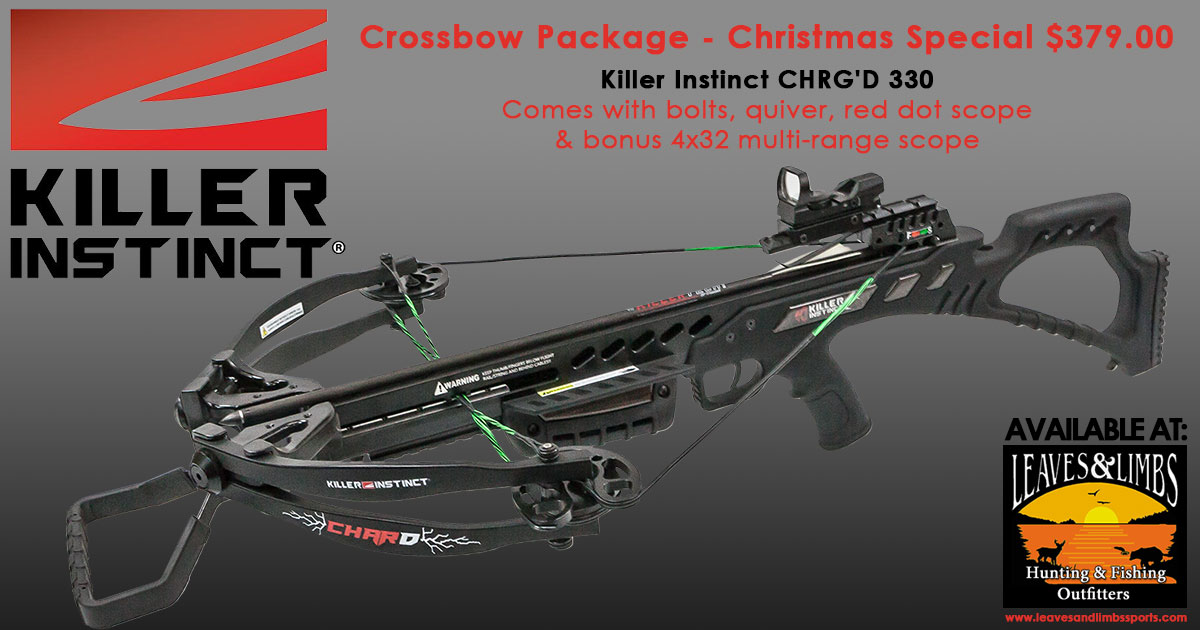 Leaves and Limbs: Crossbow Package