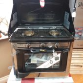 Deluxe stove.. reg. 399. Now 375.