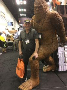 Dan Making New Friends during the 2018 Archery Trade Association Trade Show trip