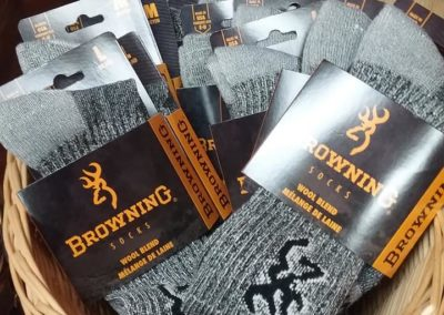 Leaves & Limbs - Browning Wool Blend Socks