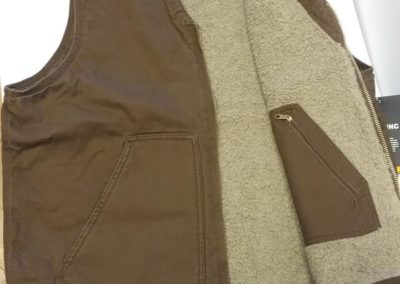 Leaves & Limbs - Mens Vest With Sherpa Lining