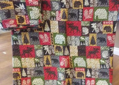 Leaves & Limbs - Queen size Comforter, Shams, Bedskirt & Decor Pillow