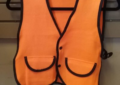 Leaves & Limbs - Youth Blaze Orange Hunting Vests